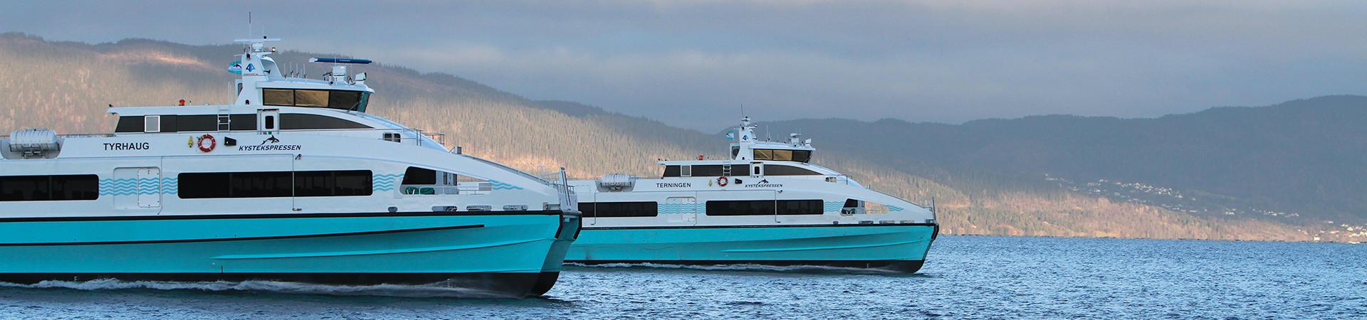 Verdens mest miljøvennlige hurtigbåter