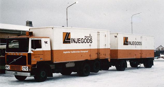 I 1990 blir godsdriften i selskapet skilt ut i to datterselskap.