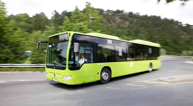 Bilde av buss fra Norgesbuss