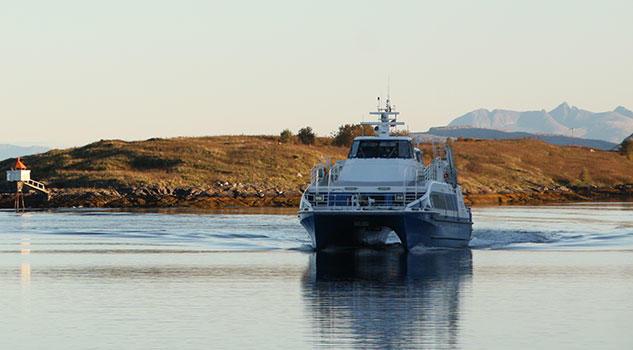 TTS sikrer seg videre drift av hurtigbåt på Sør-Helgeland.