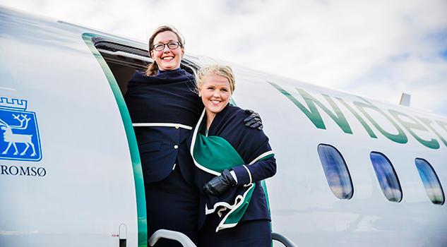 Widerøe inngår samarbeid med Norwegian på norske kortbaneruter.